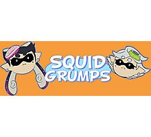 Squid Grumps Photographic Print