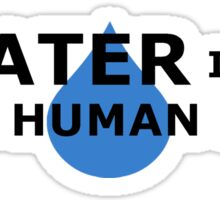 Water is a Basic Human Right Sticker