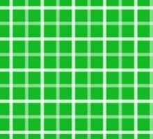 Ohio - Lime Plaid Ohio  Sticker