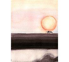 Magical Sunset Photographic Print