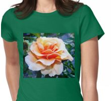 Feelin' just peachy Womens Fitted T-Shirt
