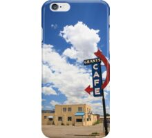 Route 66 - Grants Cafe Neon iPhone Case/Skin