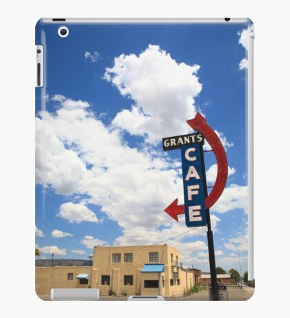 Route 66 - Grants Cafe Neon iPad Case/Skin