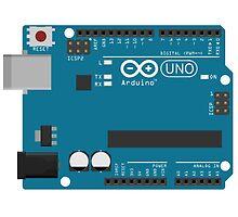 Arduino Uno Board by juliosantos712