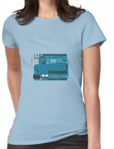 Arduino Uno Board Womens Fitted T-Shirt