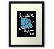 Necronomidex - The Book of the Contact Details of the Dead - T-shirts etc. Framed Print