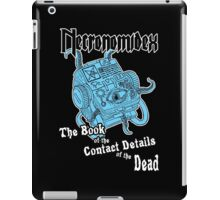 Necronomidex - The Book of the Contact Details of the Dead - T-shirts etc. iPad Case/Skin