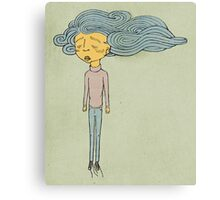 Cloud Head Canvas Print