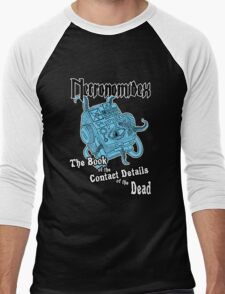 Necronomidex - The Book of the Contact Details of the Dead - T-shirts etc. Men's Baseball ¾ T-Shirt