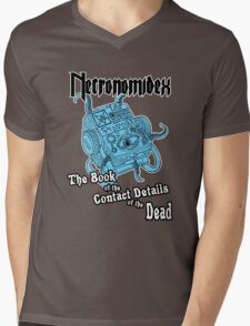 Necronomidex - The Book of the Contact Details of the Dead - T-shirts etc. Mens V-Neck T-Shirt