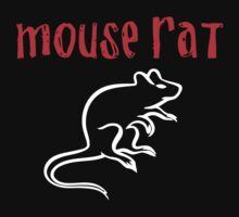 MOUSE RAT One Piece - Short Sleeve