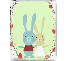 Springtime Easter Bunnies iPad Case/Skin