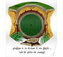 Hobbit Hole II Poster