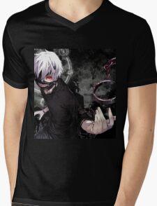 Tokyo ghoul Ken Mens V-Neck T-Shirt
