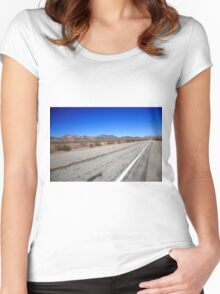 California Route 66 Women's Fitted Scoop T-Shirt