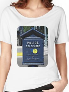 Police Telephone  Women's Relaxed Fit T-Shirt