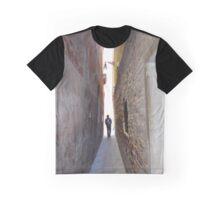 Walking a Narrow Path Graphic T-Shirt