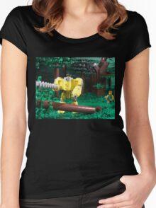 LIU Heavy Lumberjack Hardsuit Women's Fitted Scoop T-Shirt
