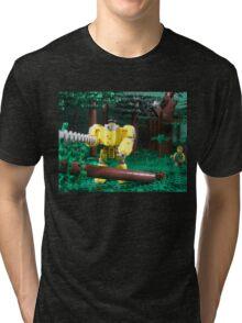 LIU Heavy Lumberjack Hardsuit Tri-blend T-Shirt