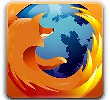 Firefox Button by juliosantos712