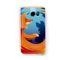 Firefox Button Samsung Galaxy Case/Skin