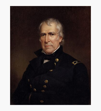Zachary Taylor - Old Rough and Ready  Photographic Print
