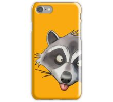 Gray Raccoon GTA iPhone Case/Skin
