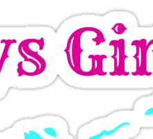 Keys Girl Sticker