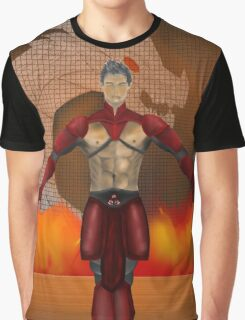 flame warrior (dicipline) one of four designs Graphic T-Shirt