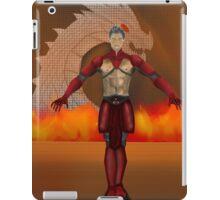 flame warrior (dicipline) one of four designs iPad Case/Skin