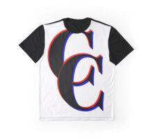 3D Common Courtesy Graphic T-Shirt