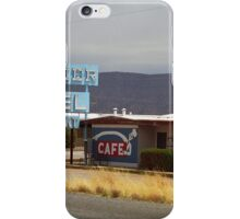 Route 66 - Frontier Motel iPhone Case/Skin