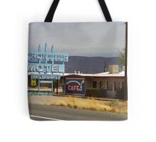 Route 66 - Frontier Motel Tote Bag