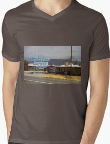 Route 66 - Frontier Motel Mens V-Neck T-Shirt