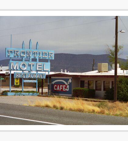 Route 66 - Frontier Motel Sticker