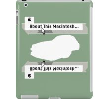 Daytona 1991 iPad Case/Skin