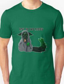 Grouchy Kitty Needs Chocolate Unisex T-Shirt