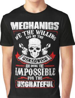 Mechanic Quantum Graphic T-Shirt