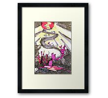 Going Up on a Tuesday Framed Print