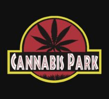 Cannabis park style jurasisic One Piece - Short Sleeve