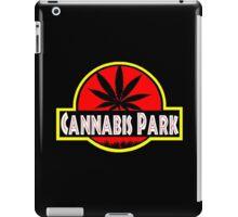 Cannabis park style jurasisic iPad Case/Skin