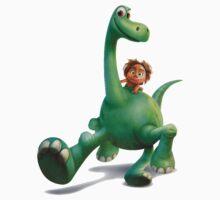 funny the good dinosaurus One Piece - Long Sleeve