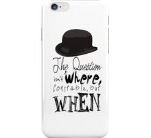 The question isn't where Constable, but when. iPhone Case/Skin