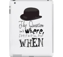 The question isn't where Constable, but when. iPad Case/Skin