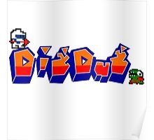 Dig-Dug Poster