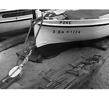 An old Spanish boat named Pere Photographic Print