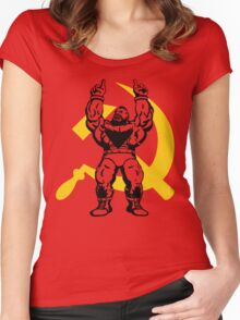Zangief The Red Cyclone Women's Fitted Scoop T-Shirt
