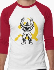 Zangief The Red Cyclone Men's Baseball ¾ T-Shirt