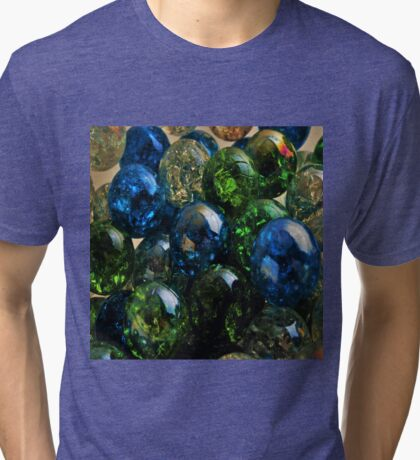 Cracked Marbles 4 Tri-blend T-Shirt