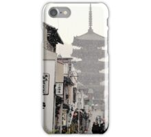 Kyoto In Snow iPhone Case/Skin
